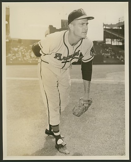 Lew Burdette at Polo Grounds