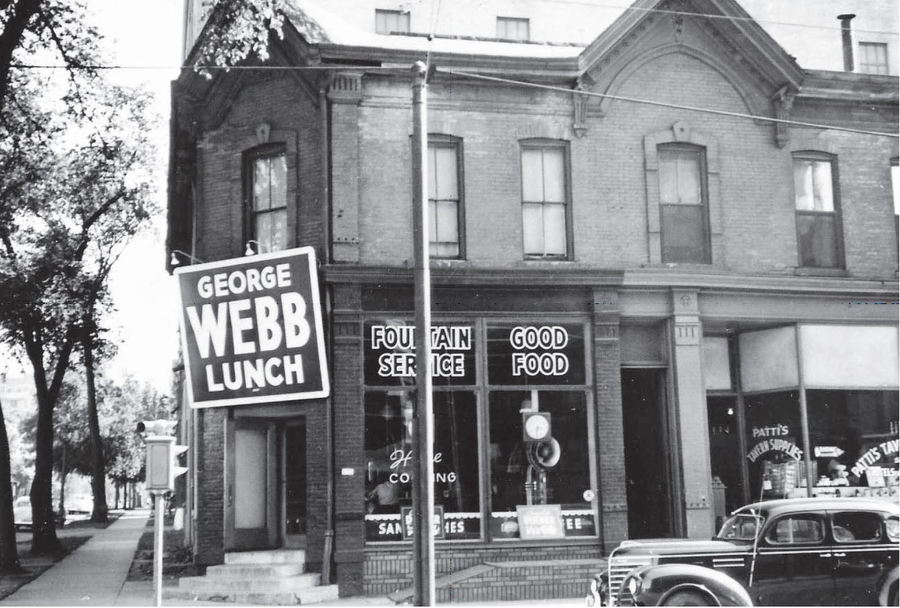 George Webb Restaurant.